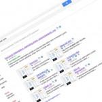 Efecto 360º al realizar una búsqueda en google