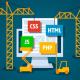 convertir html a php