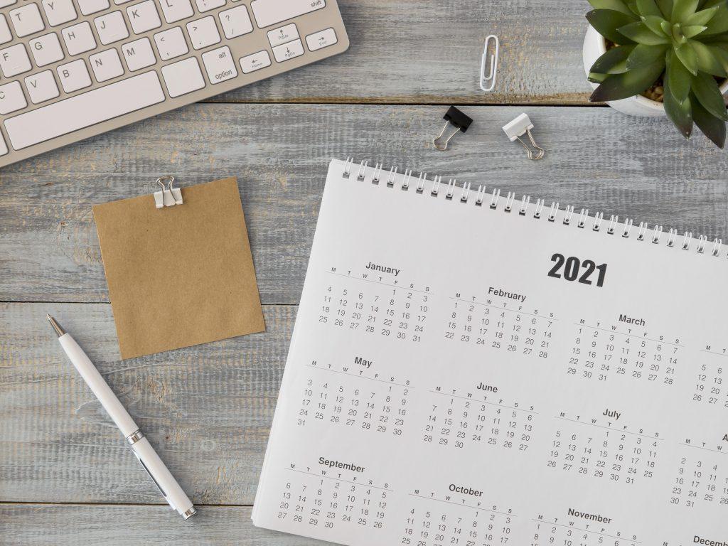 fechas calendario editorial