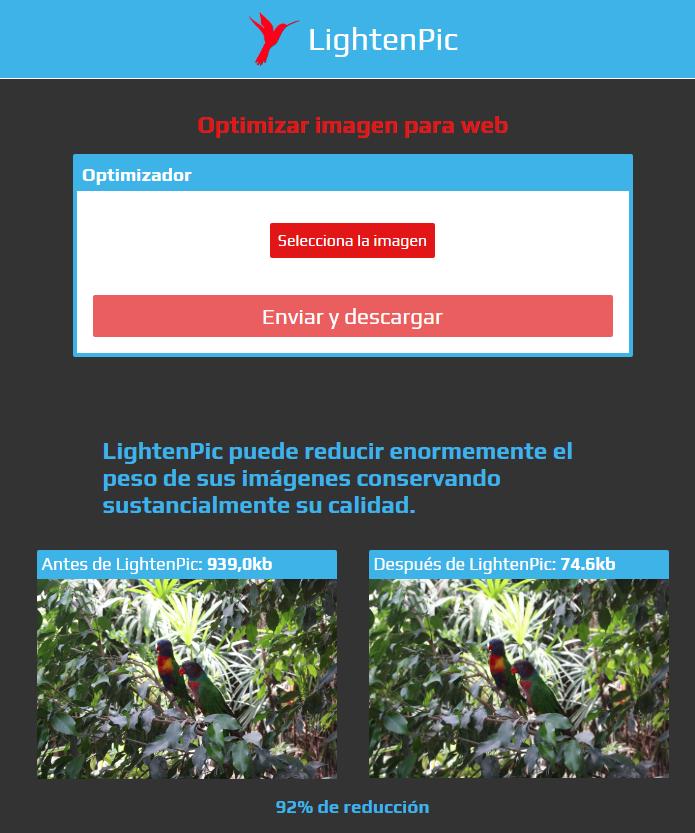 Optimizar imágenes sin esfuerzo 2