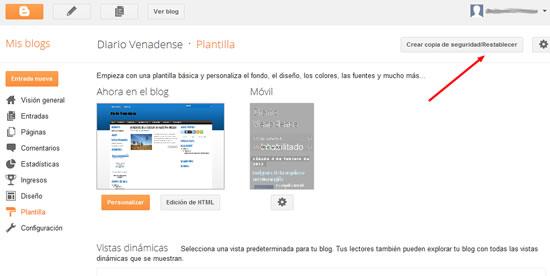 Plantillas para Blogger 2